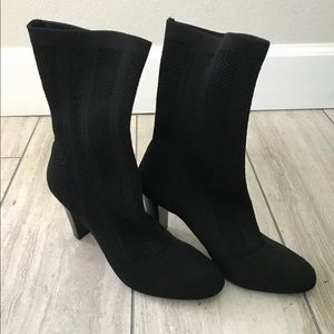 CHARLES DAVID Black Boots Ankle 8.5 VERO-CUOIO